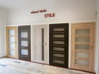 Rámové interiérové dveře STILE - vzorkovna