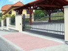 Kovaný plot STYLE, vzor AW.10.22, barva černá antracit