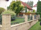 Kovaný plot STYLE, vzor AW.10.22, barva antacit