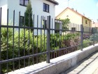 Kovaný plot STYLE, vzor AW.10.22, barva antracit
