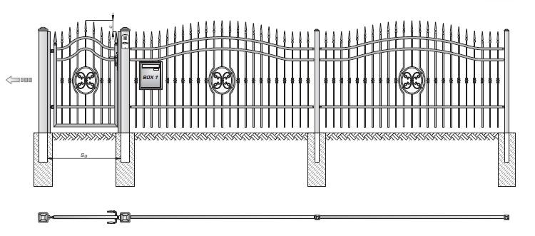 Kovové ploty z plných ocelových profilů