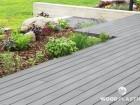 Dřevoplastová terasa FOREST PLUS, prkna Premium, dekor Inox