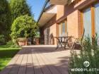 Dřevoplastová terasa FOREST, prkna Premium, dekor Teak