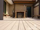 Dřevoplastová terasa STYLE PLUS, prkna Premium, dekor Teak