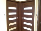 Rámové interiérové dveře STILE, vzor MAGNÓLIE 1, povrch Ořech 3D Greko