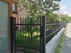 Kovaný plot STYLE, vzor AW.10.15, barva černá mat struktura RAL 9005