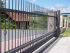 Kovaná posuvná brána STYLE, vzor AW.10.22, barva antracit