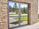 Hliníkové vchodové dveře PLUS LINE, vzor AW 007/S