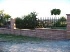 Kovový plot VARIO, vzor AW.10.84, barva černá mat RAL 9005