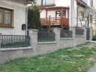 Kovový plot CLASSIC, vzor AW.10.71, barva šedá grafitová RAL 7016