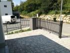 Kovový plot CLASSIC, vzor AW.10.05, barva hnědá RAL 8019