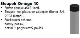 Sloupek omega40