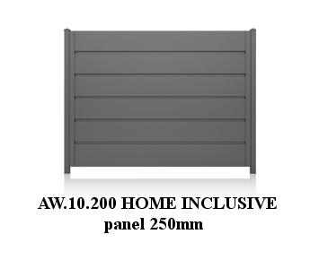 AW.10.200, panel 250 mm