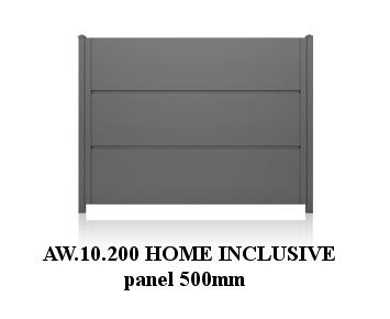 AW.10.200, panel 500 mm