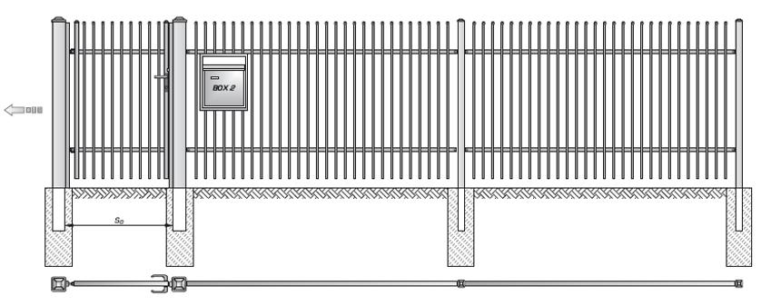 Kovové ploty z dutých ocelových profilů